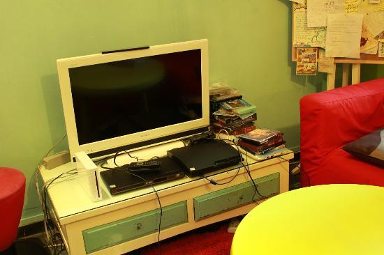 A Beary Good Hostel: entertainment:tv,ps3,wii,dvd player