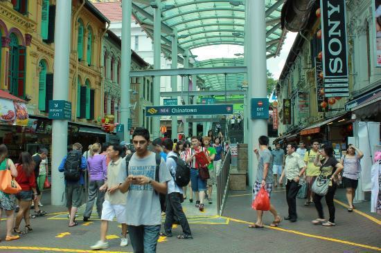 A Beary Good Hostel: MRT station entrance a few steps away