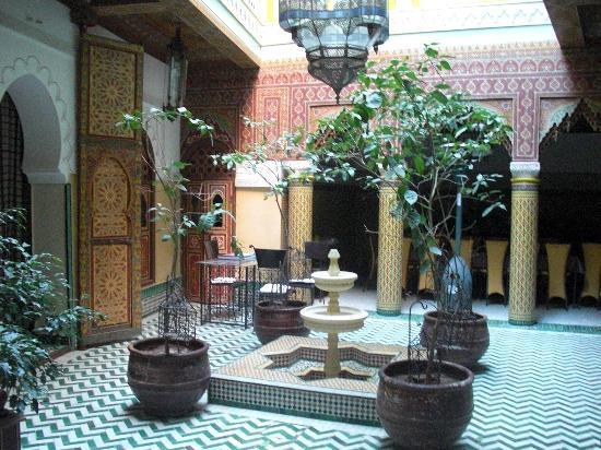 Riad et Dar Maison Do: le patio