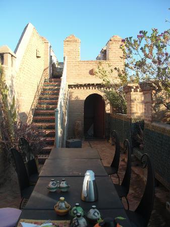 Riad et Dar Maison Do: la terrasse