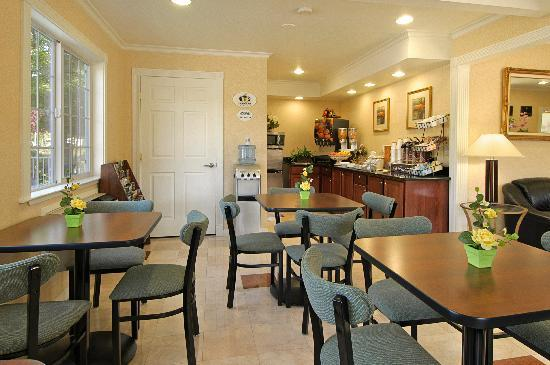 Super 8 Ukiah: Breakfast Room