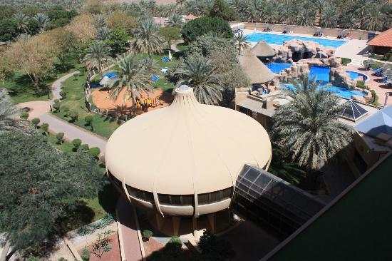 Danat Al Ain Resort : view from our room