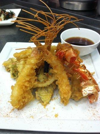 Norio's Japanese Steakhouse & Sushi Bar : lobster tempura