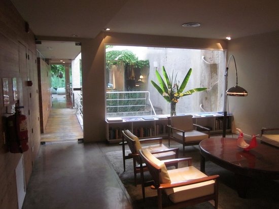 Home Hotel Buenos Aires: Lobby