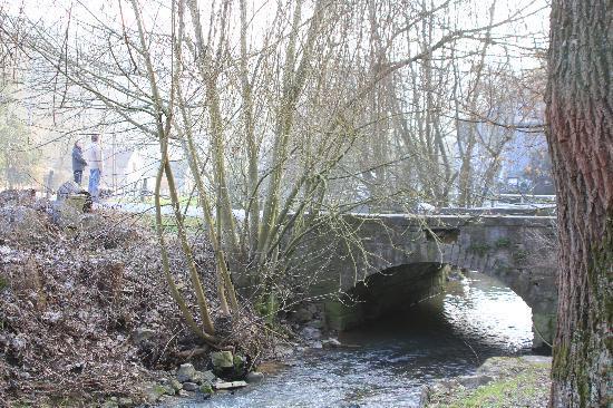 Le Moulin des Ramiers : the steam out front