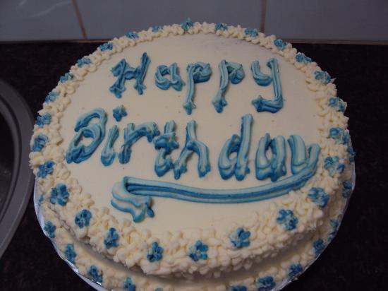 Hanneman Holiday Residence: The lovely birthday cake