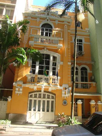 Hotel Venezuela: frente do hotel