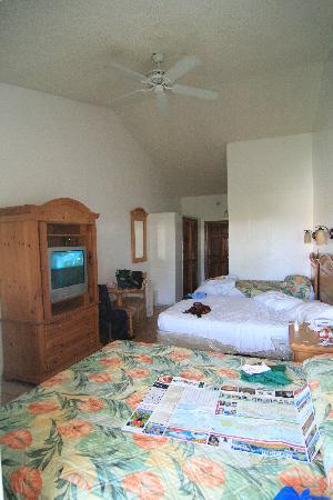 Orange Hill Beach Inn: the room