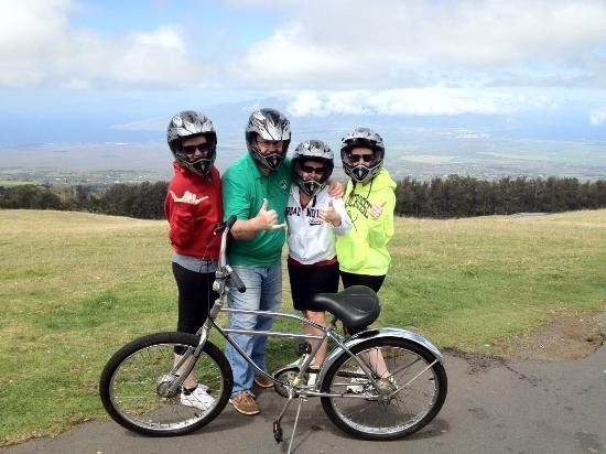 Paia, هاواي: On top of the mountain!