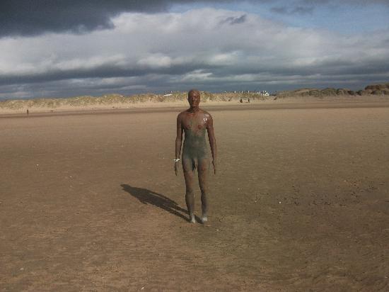 Antony Gormley's Another Place: iron men