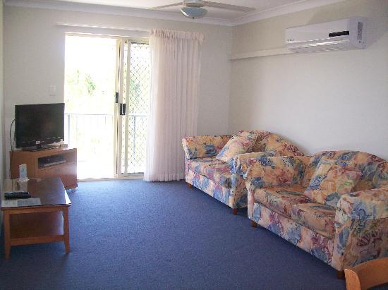 Tamarind Sands: Living area