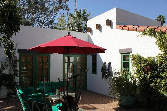 Casa Ocotillo: Private Patio