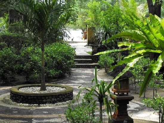 Alam Gili: The garden