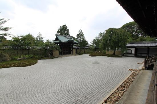 Kodai-ji Temple rock garden