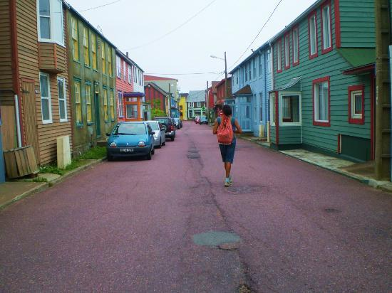 Saint-Pierre and Miquelon: City Streets -- Saint-Pierre