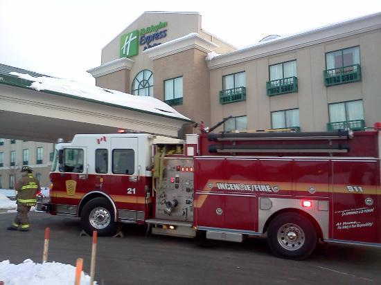 Holiday Inn Express Airport Dieppe: Evacuation #2