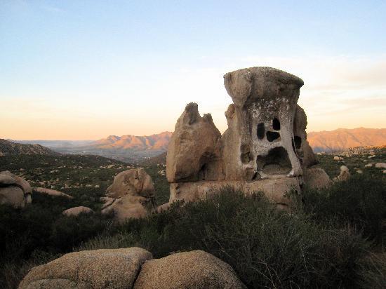 Rancho La Puerta Spa: Scary rock