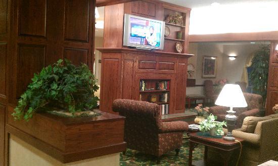 هوموود سويتس باي هيلتون بروفيدنسورويك: Lobby living room