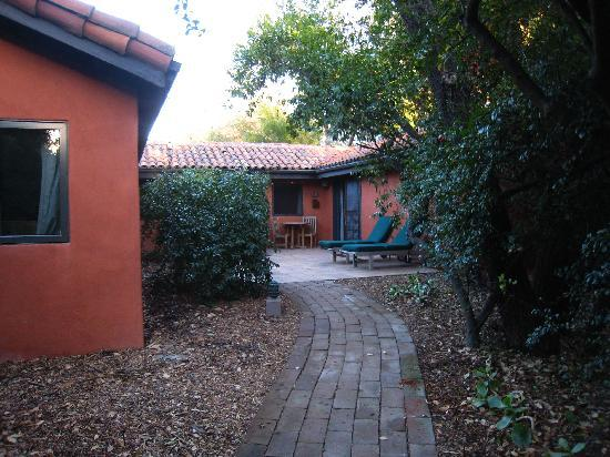 Rancho La Puerta Spa : Outside my ranchera