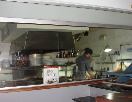 4141 Restaurante : View of the kitchen