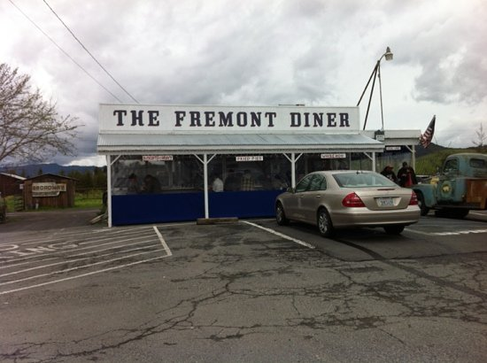 The Fremont Diner: Nothin' fancy here. Easy to miss driving by.