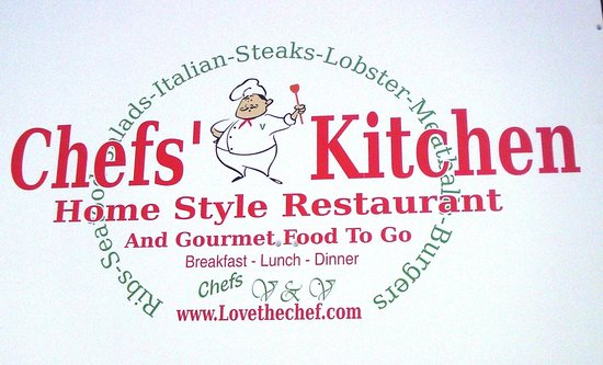 Chef's Kitchen: Entrance to mini-strip mall, across from Hunter Mtn.