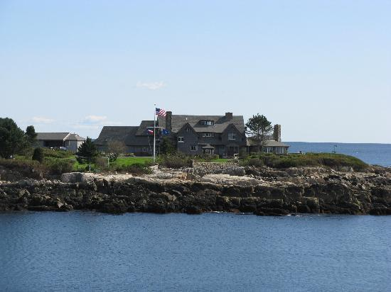 Kennebunkport, ME: Bush Compound