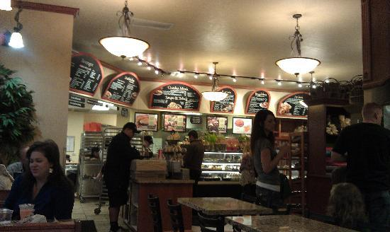Kneaders Bakery: order at the counter, they bring to you