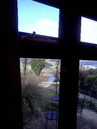 "Lake Karapiro Lodge: The ""lake view"""