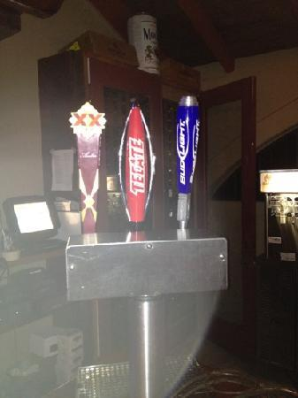 El Encanto: beers on tap