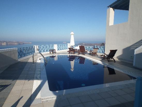 Celestia Grand: Our own private pool.