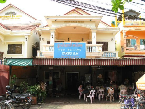 Boeung Takeo Guesthouse: ゲストハウスの外観
