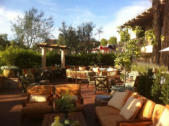 Veranda Fireside Lounge U0026 Restaurant: View On The Patio.