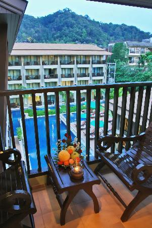Ananta Burin Resort: View from balcony