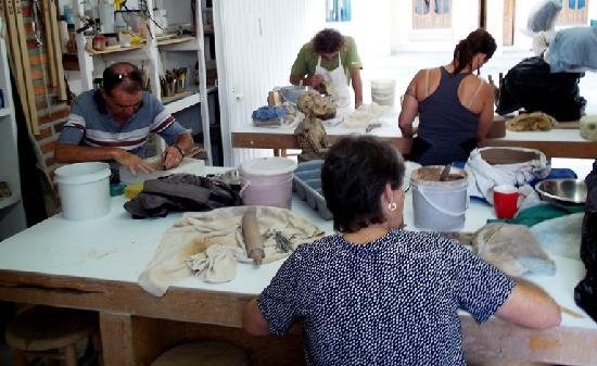 Tuna Contemporary Ceramics Center : clases de ceramica