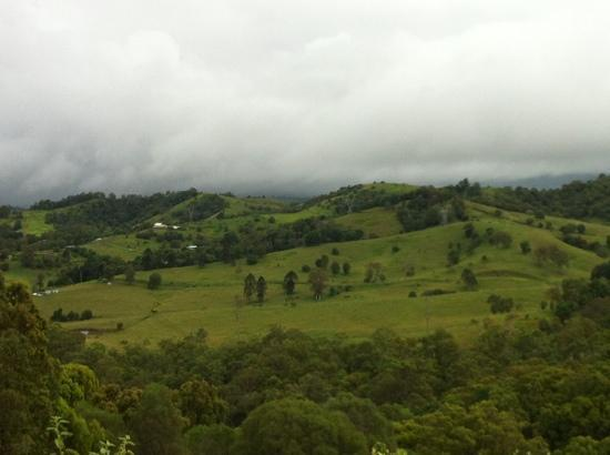 Amamoor Homestead: view from the hill