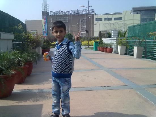 The Great India Place: Aayan in Great India Palace Amusement Park