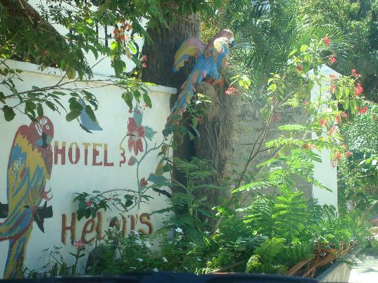 Villa Helen's Hotel & Restaurant: Entrance
