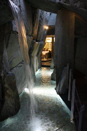 Grand Hotel Hof Ragaz: Kneipp baths in spa