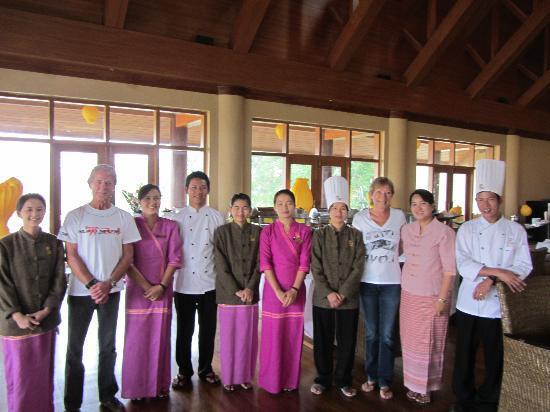Aureum Palace Resort & Spa Inle : The best staff ever!