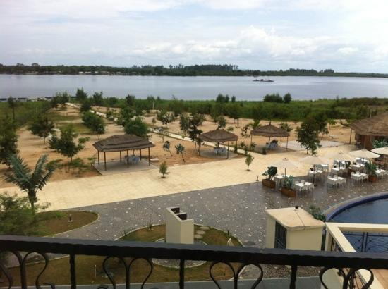 Soyo, Angola: view from room 214