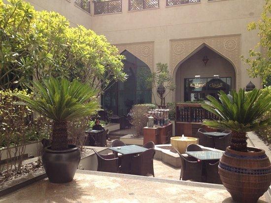 The Courtyard: sun & shade