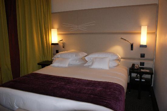 Tiffany Hotel: chambre 110