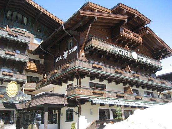 ALL INCLUSIVE Hotel DIE SONNE: buitenzicht