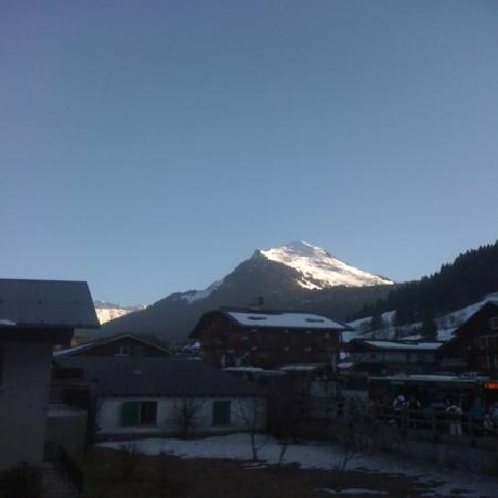 Riders Refuge - Chalet Les Pistes: view from our bedroom at Chalet Deffert