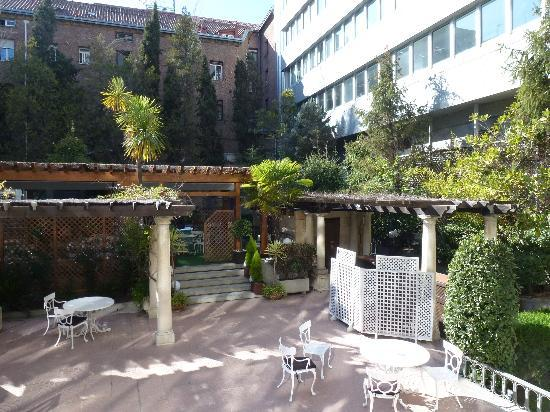 Jardin picture of hotel miguel angel by bluebay madrid for Jardin hotel miguel angel