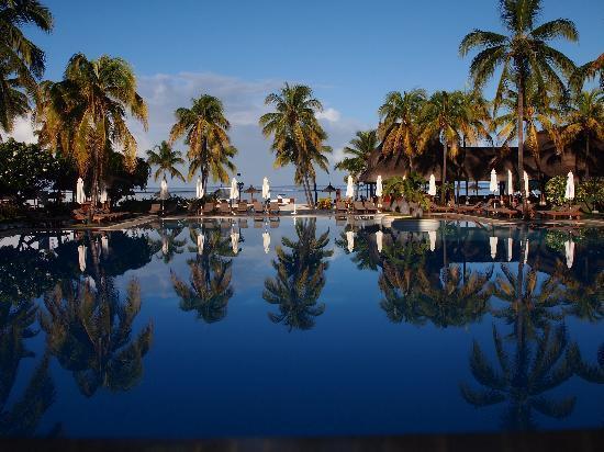 Sofitel Mauritius L'Imperial Resort & Spa: vu du restaurant principal