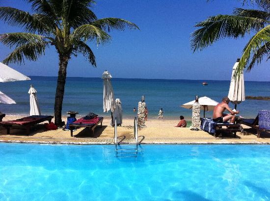 Lanta Palace Resort & Beach Club: the pool and the beach