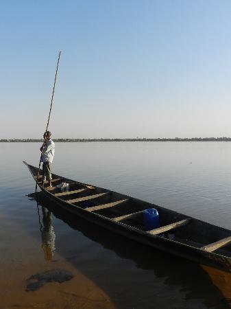 Niger River: Barcaiolo - Villaggio sul Niger - Segou