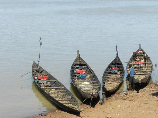 Mali: Pastore Peul - Porto di Mopti